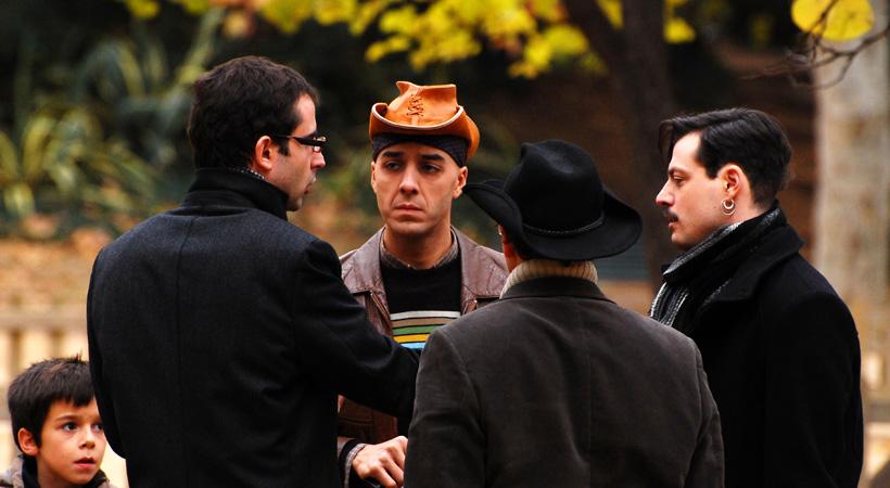 Rodolfo Sacristan cowboy Una del oeste actor