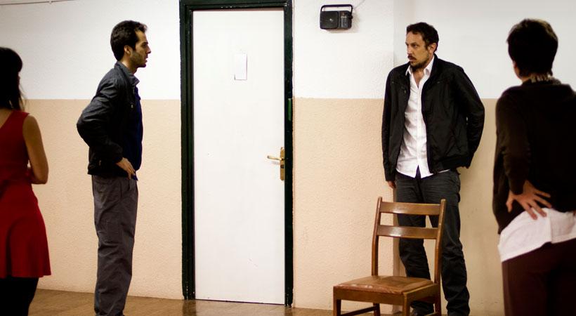 Rodolfo Sacristan Impromptus Opus 90 actor Madrid