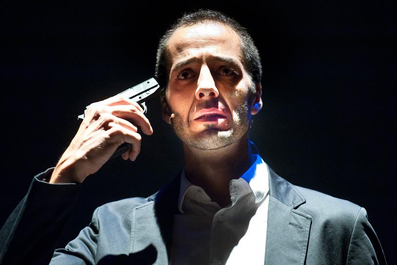Rodolfo Sacristan Daniel Dimeco La Mano de Janos teatro actor